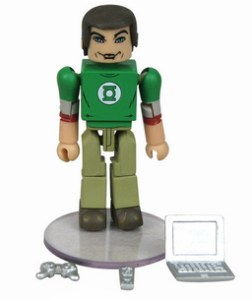 Big Bang Theory Minimates 16 Playstation