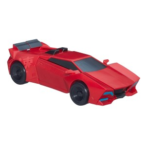Three Step Sideswipe Vehicle