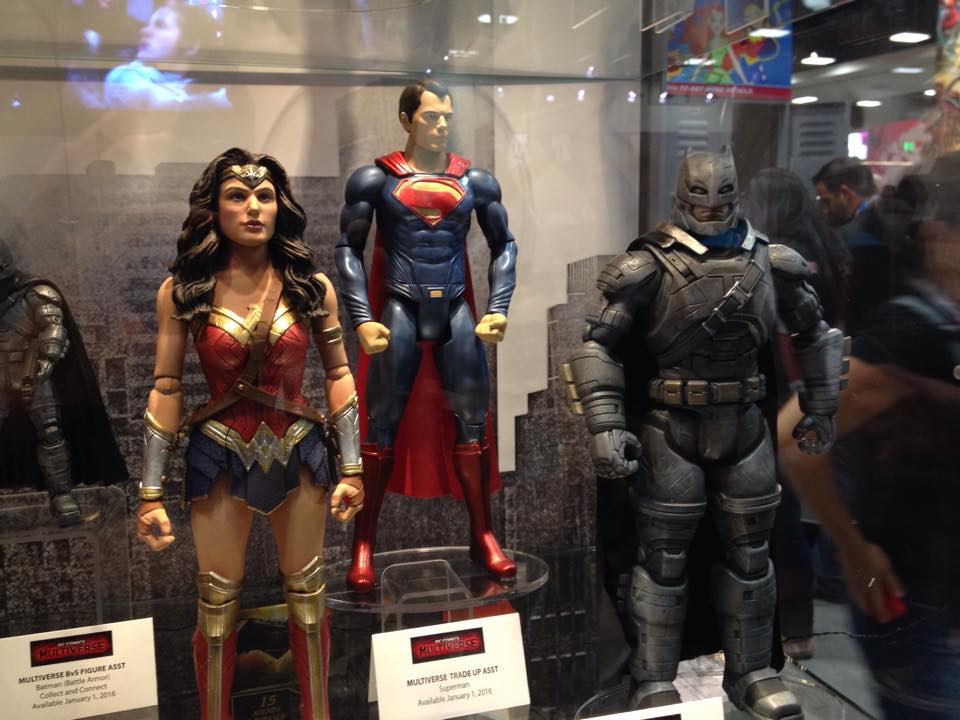 Mattel SDCC 2015 Gallery! DC Comics and More!
