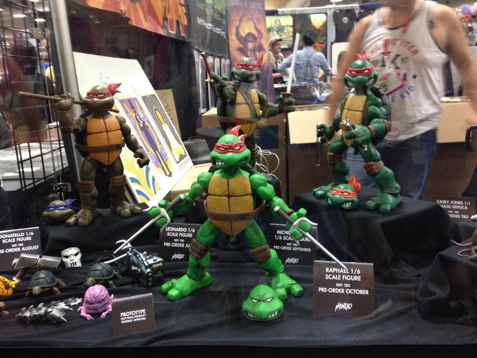 Mondo SDCC 2015 Gallery! TMNT, Madballs, Godzilla and More!!