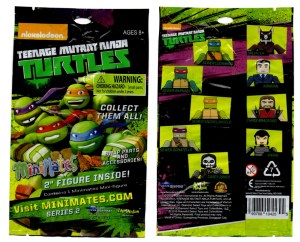 Teenage Mutant Ninja Turtles Minimates Series 2 Blind Bag