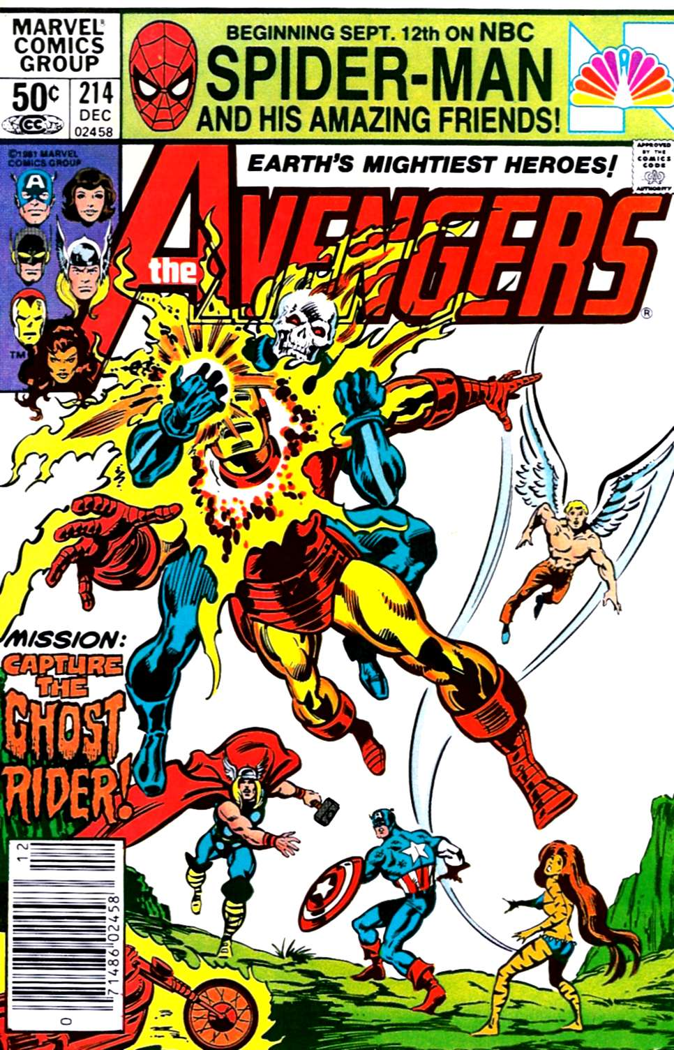 Reviews Of Old Comics: Avengers 214