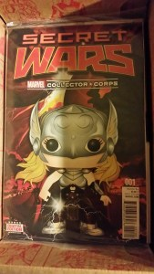 Marvel Collectors Corps Secret Wars
