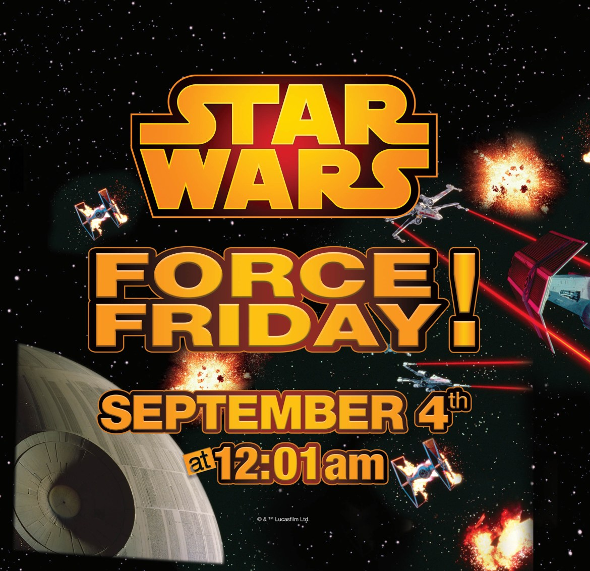 Toys R Us Star Wars Force Friday Press Release
