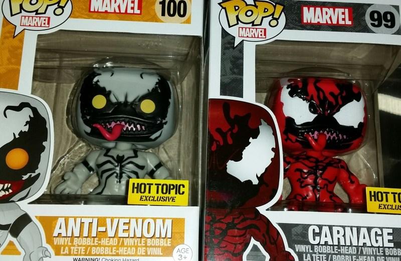 Anti Venom Carnage Pop S Hit Hot Topic Needless Essentials Online