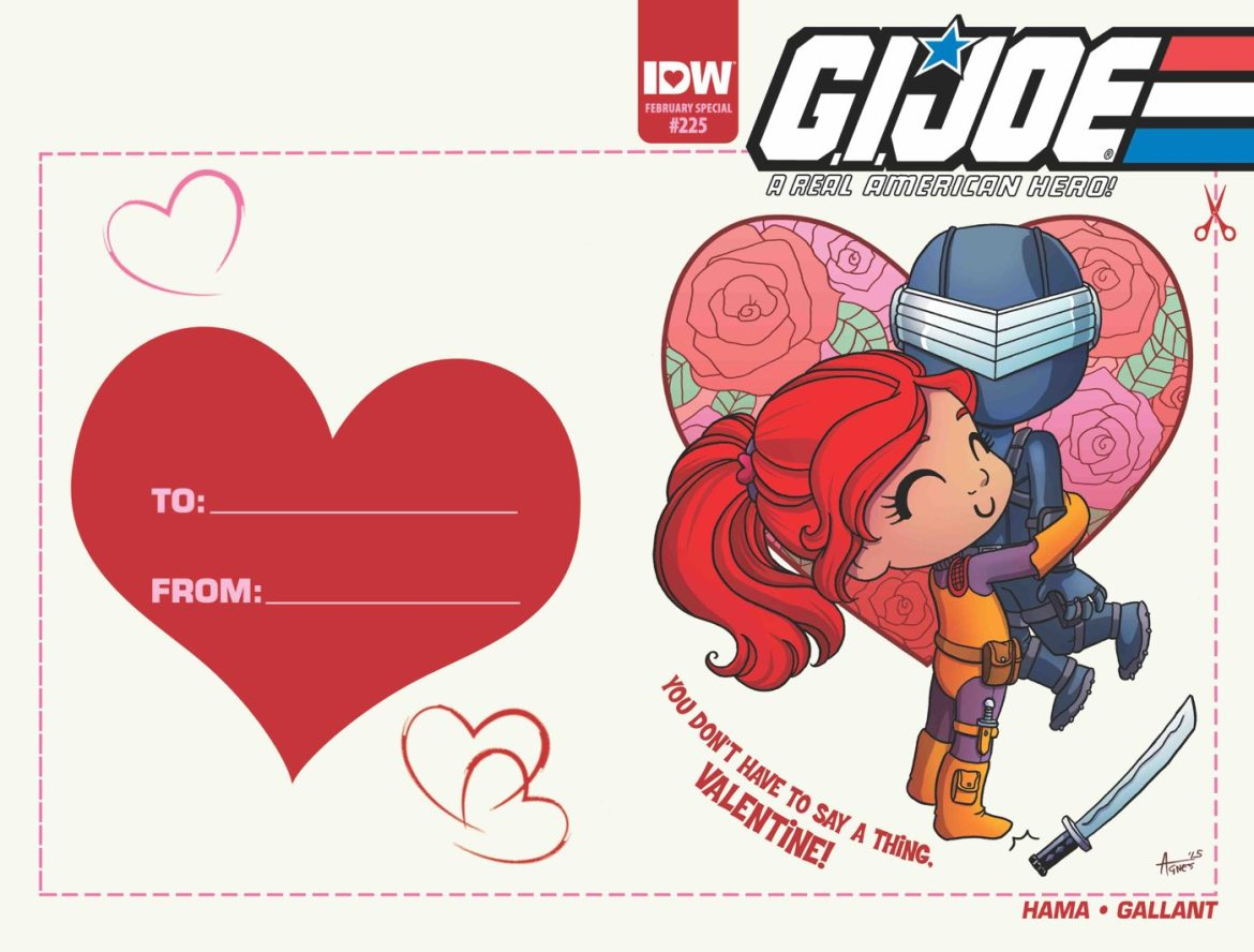IDW Valentines Day Cover Month Coming Feb 2016