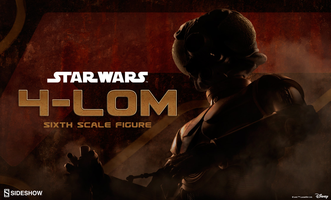 4-LOM Sixth Scale Figure Preview