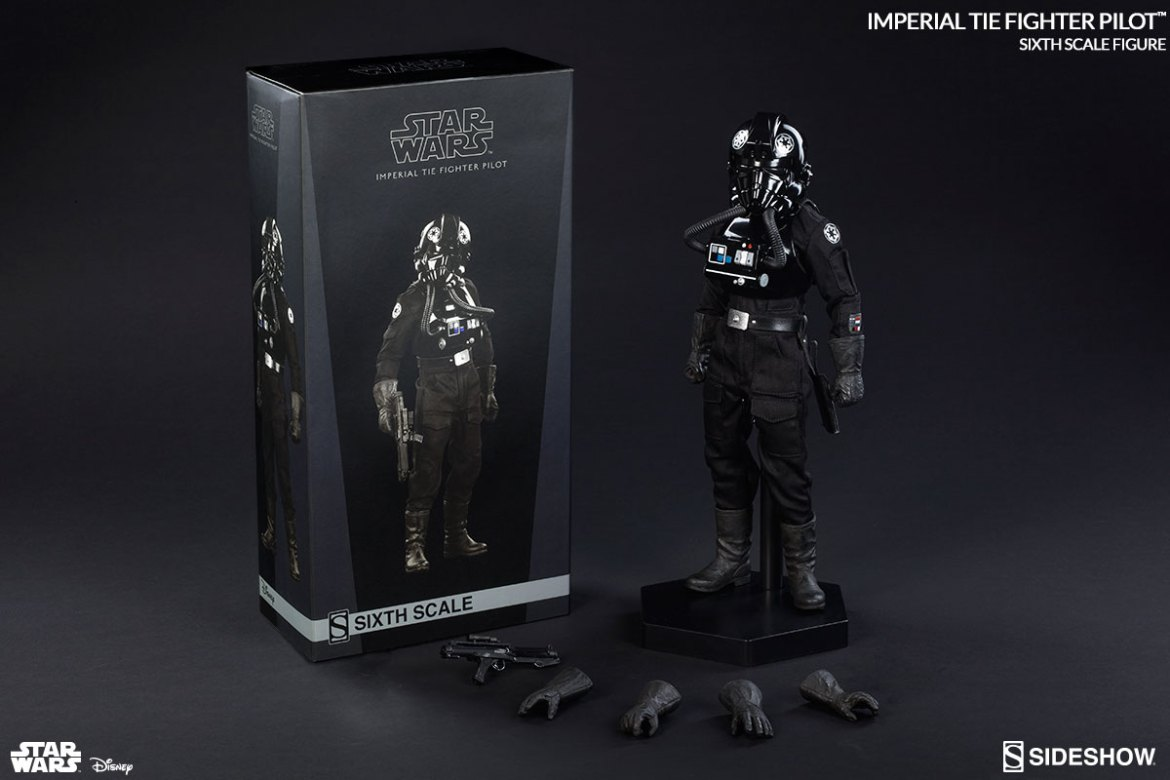TIE Fighter Pilot Sixth Scale Figure- New Images