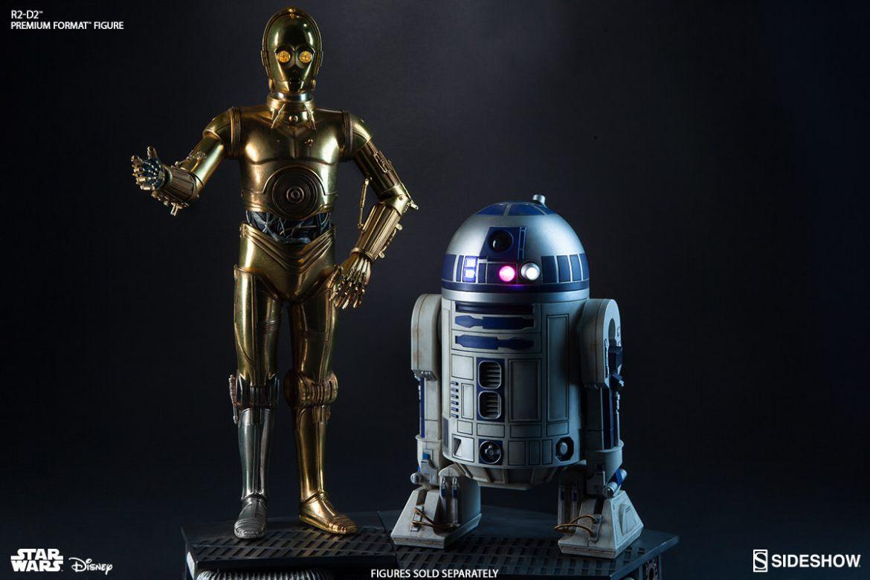 C-3PO & R2-D2 Premium Format Figures