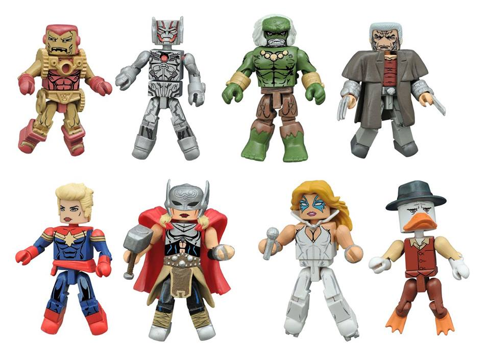 Marvel Minimates Wave 64 Control Art