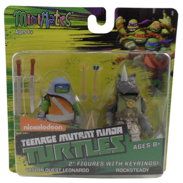 MiniMates Teenage Mutant Ninja Turtles Nickelodeon Series 3 Rocksteady