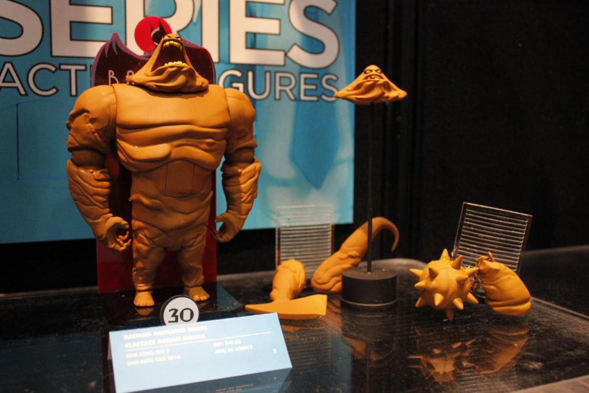 DC Collectibles- Toy Fair 2016- The Animated Series