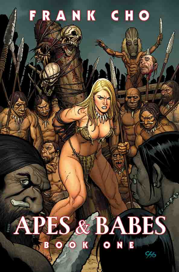 Apes & Babes – Frank Cho Art Book Coming In May