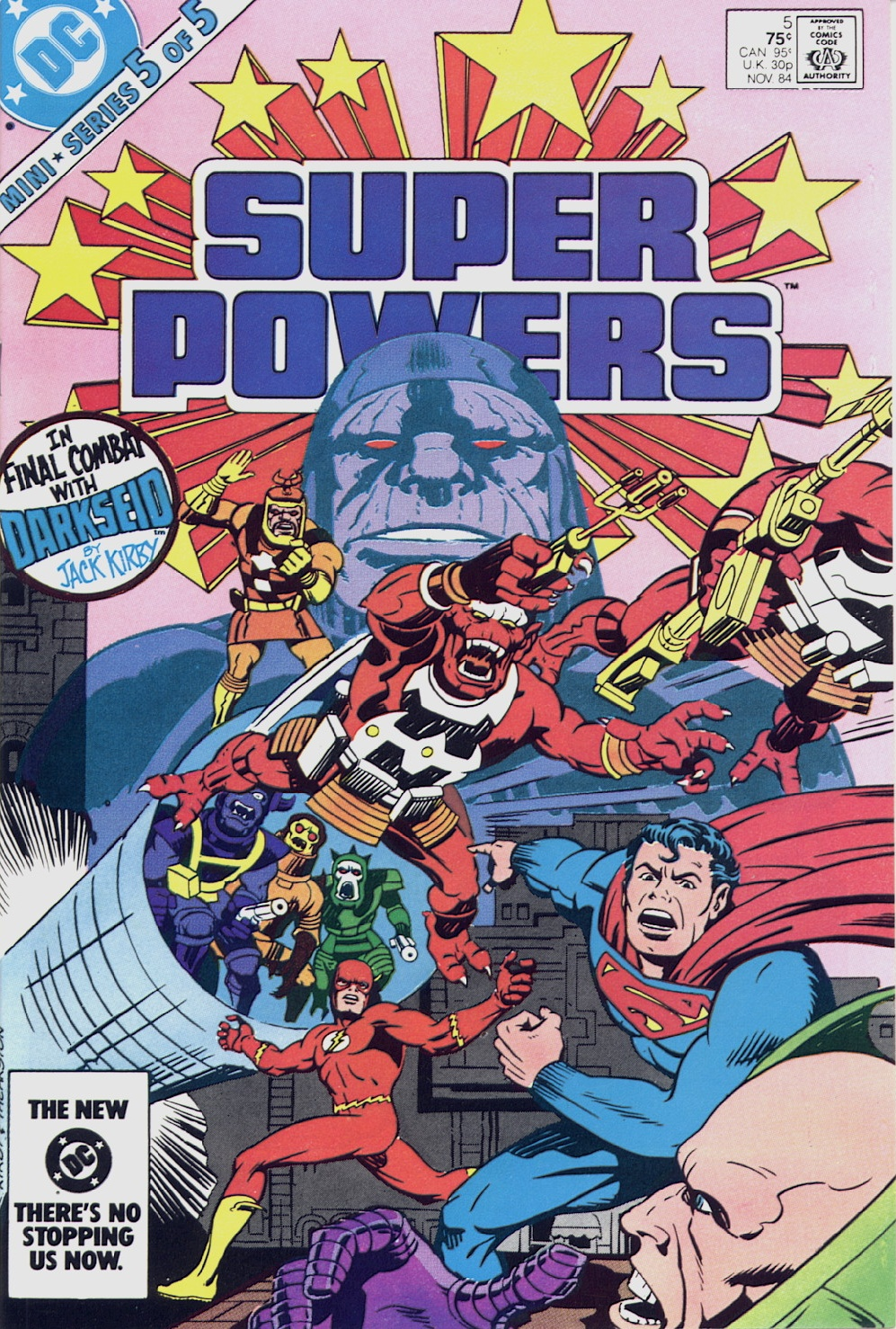 Super Powers #5 – Reviews Of Old Comics