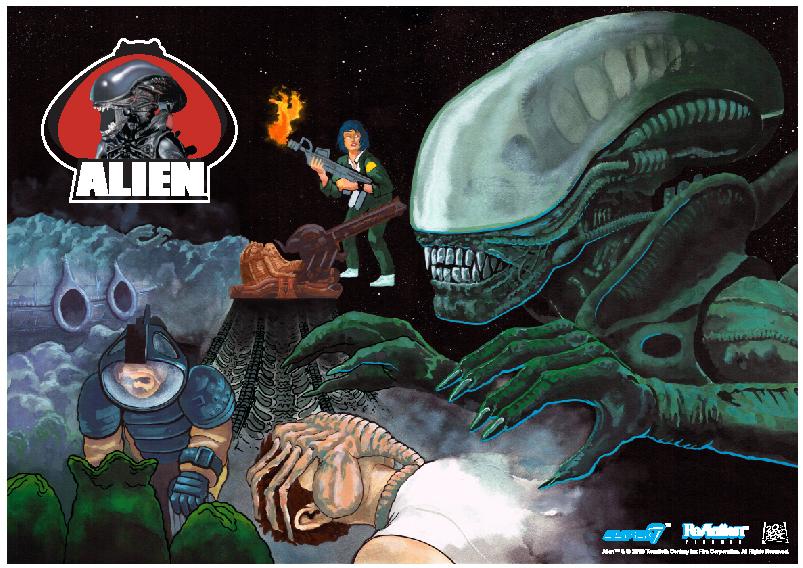 Super 7 Alien Day Previews