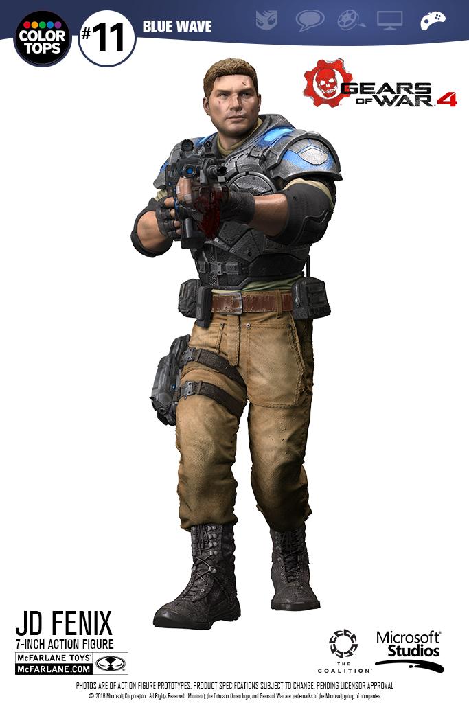 Gears of War 4 – JD Fenix Preview