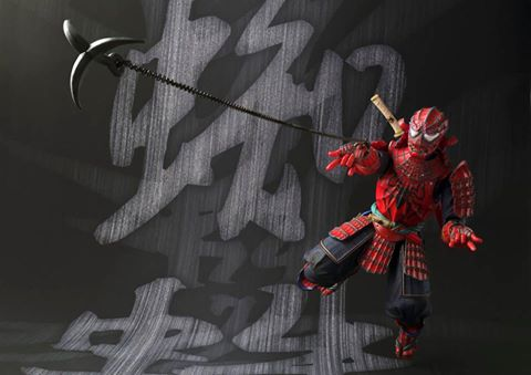 Samurai Spider-Man Realization