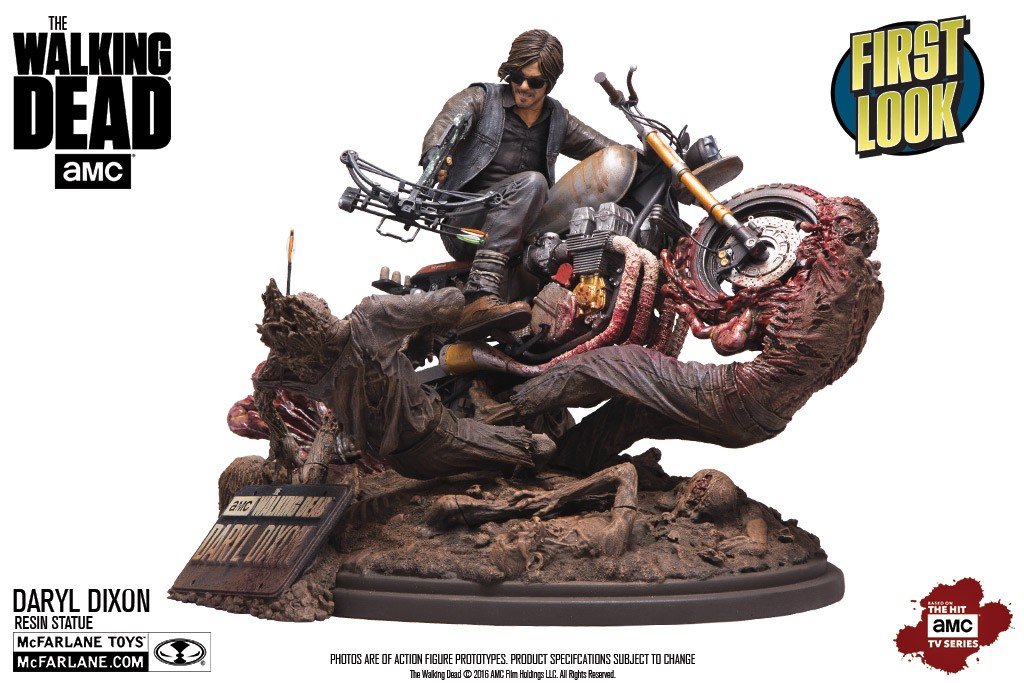 McFarlane Reveals New Walking Dead and More!
