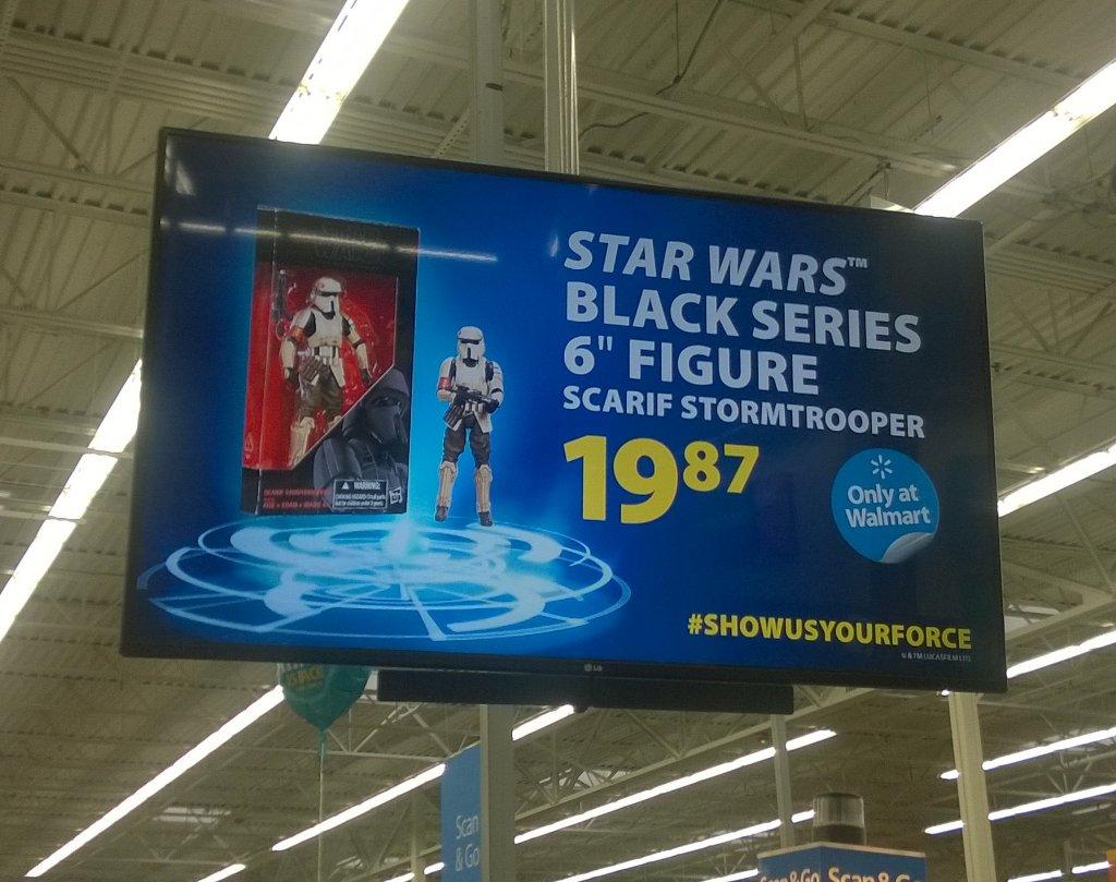 Walmart Exclusive Rogue One Black Series Scariff Trooper