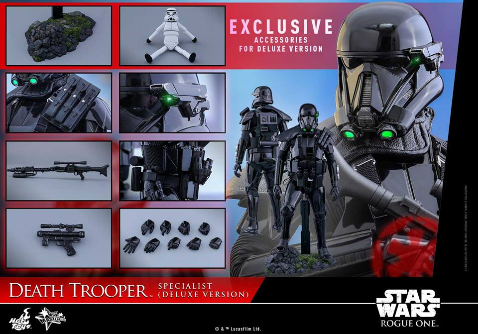 Rogue One – 1/6th scale Death Trooper Specialist (Deluxe Version)