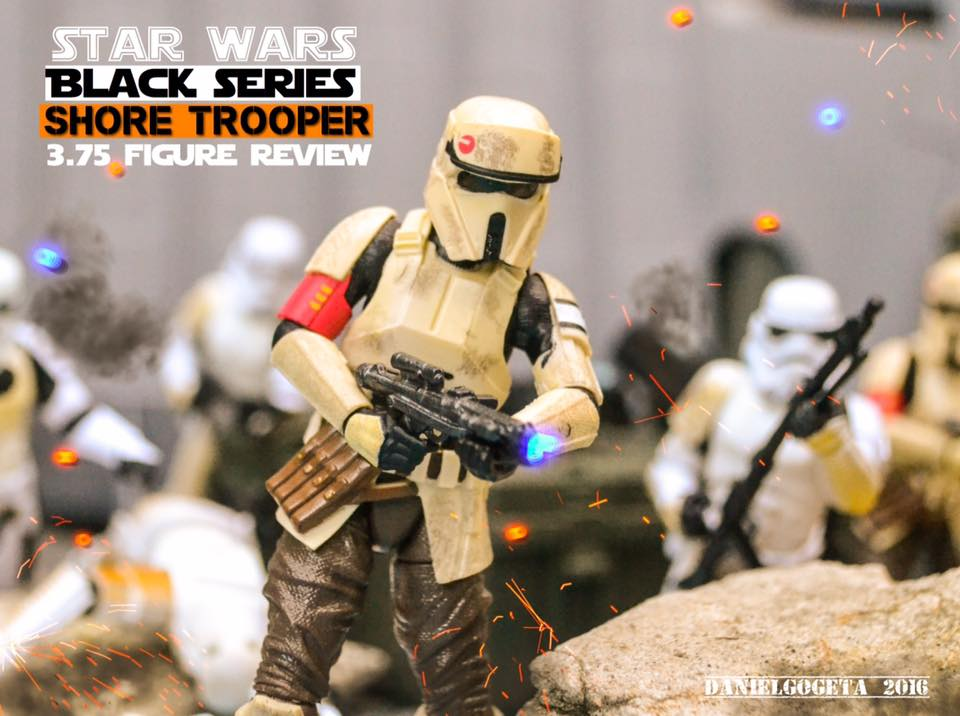 Star Wars Black series 3.75 Shoretrooper Review