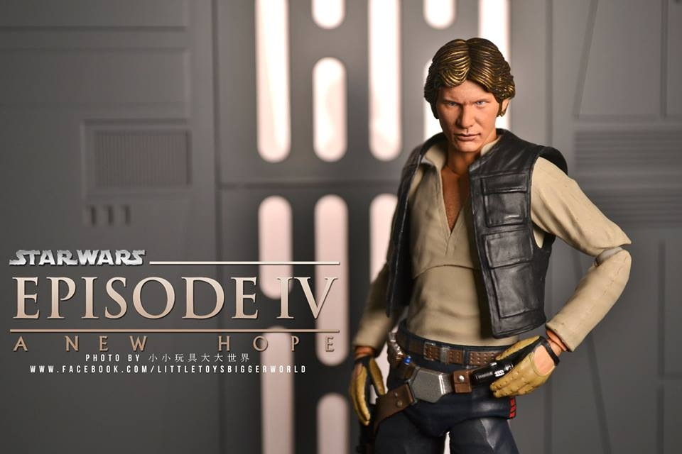 S.H.Figuarts Han Solo (Episode IV – A New Hope) Overview & Gallery