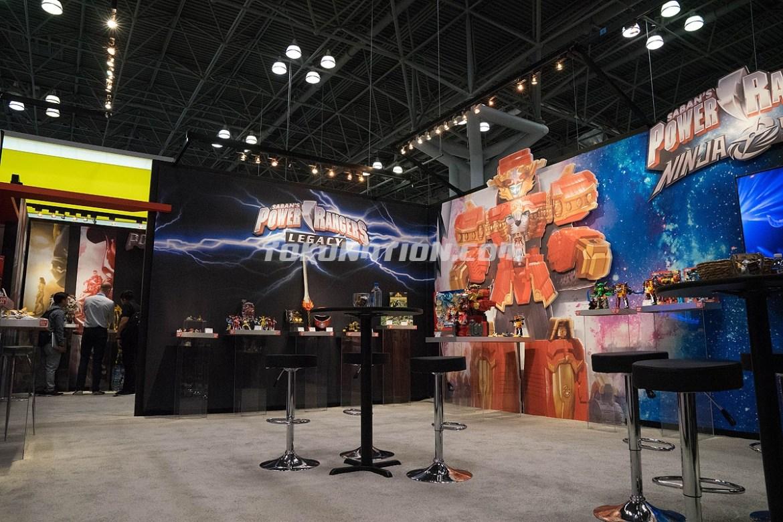 Power Rangers Movie Toys at ToyFair