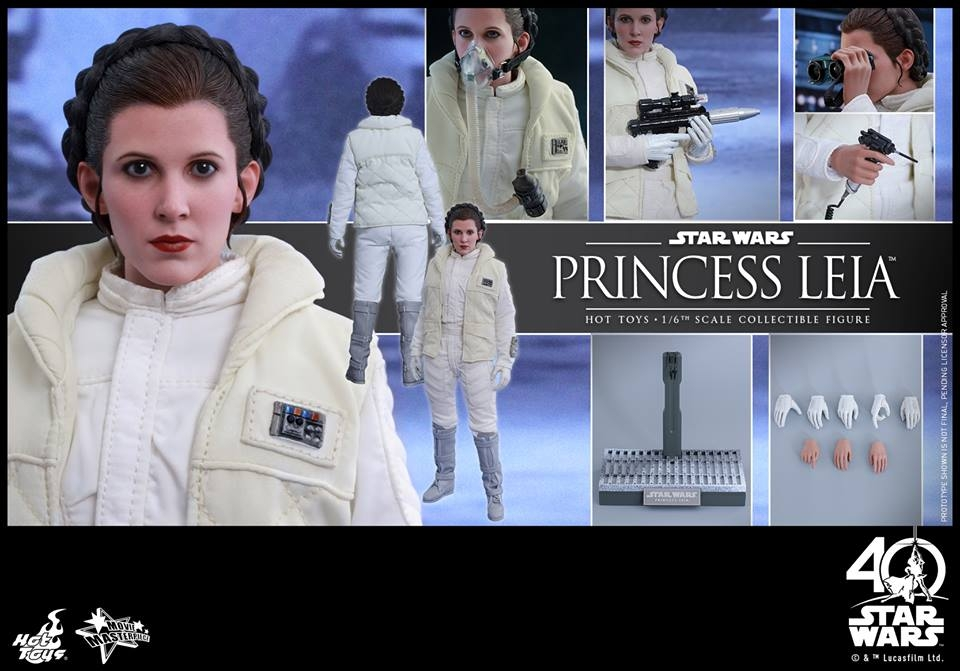 Star Wars: The ESB 1/6th scale Princess Leia Collectible Figure