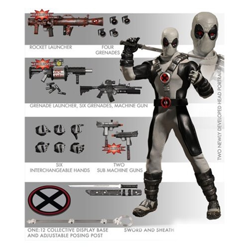 New Previews Exclusive Spider-Man, Wolverine and X-Force Deadpool!