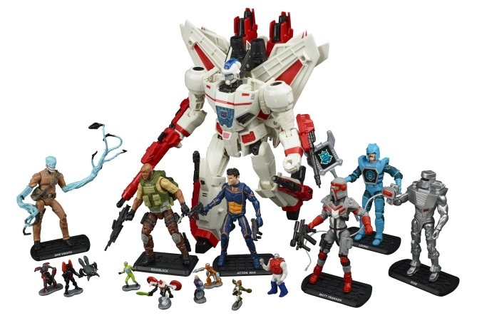 SDCC Revolution Boxset Announced! Jetfire, Visionaries, GI Joe & More!
