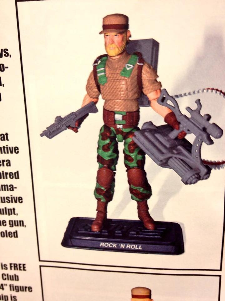 GI Joe Collectors Club Rock n Roll Revealed and it's Bad