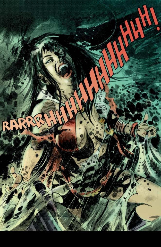 Best Comics Of 2017 – Part Two – Vampirella Vol. 1: Forbidden Fruit