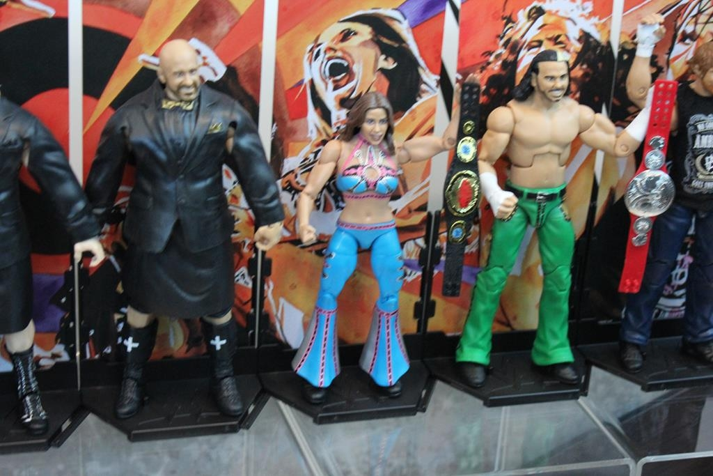 Mattel- WWE, Hot Wheels and More- Toy Fair 2018