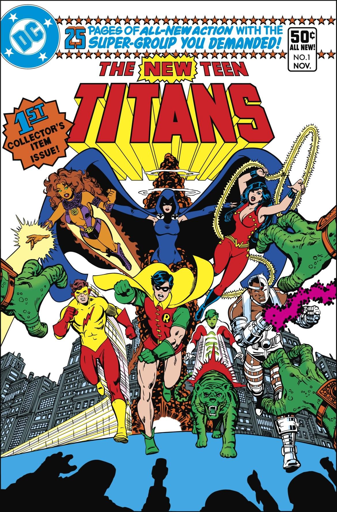 New Teen Titans Multi Part Statue Line