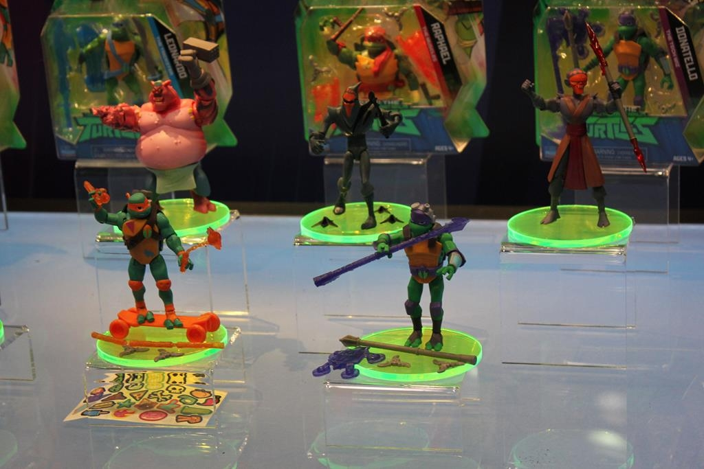 Playmates Toys- Toy Fair 2018- TMNT, Voltron, Ben 10 and More