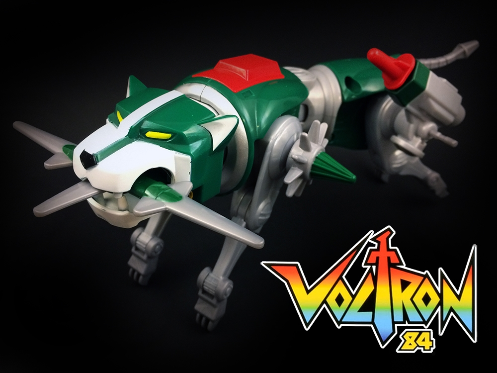 Voltron Classic Green Lion Review