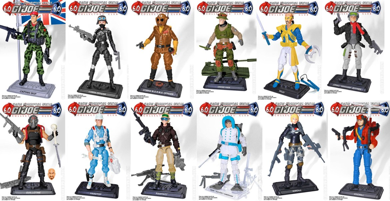 G.I.Joe FSS 6 Collectors Club Shipment Now Arriving!