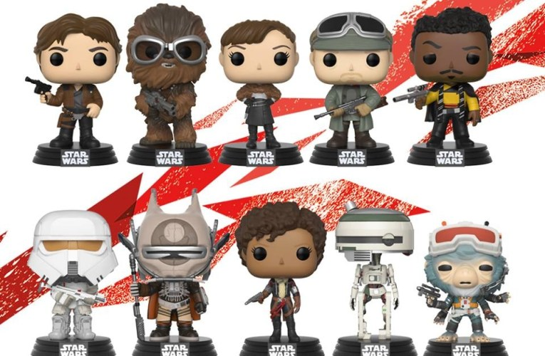 Star Wars Han Solo POPS will be out Starting Tonight