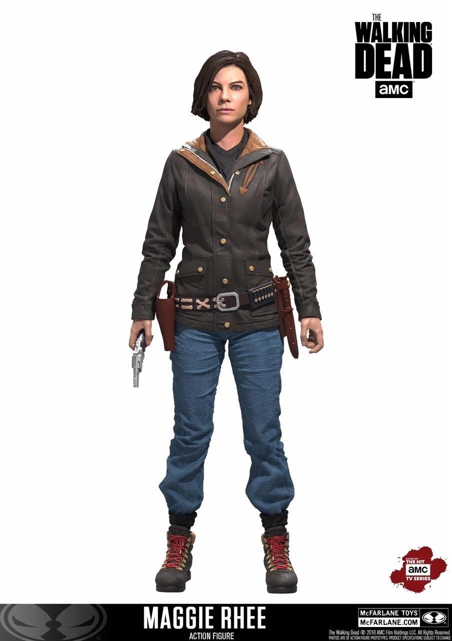 McFarlane Reveals New Walking Dead Figures
