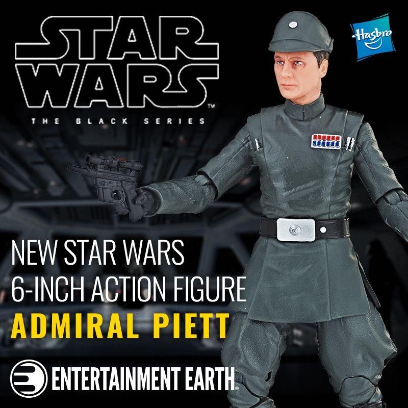 Star Wars The Black Series Admiral Piett Exclusive