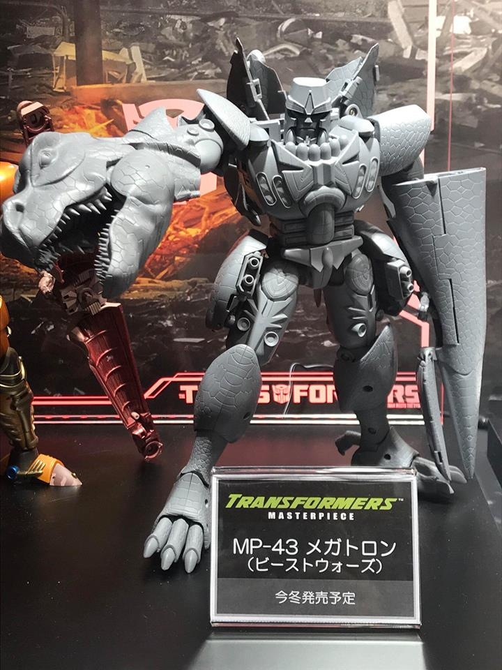 Masterpiece Beast Wars Megatron Revealed