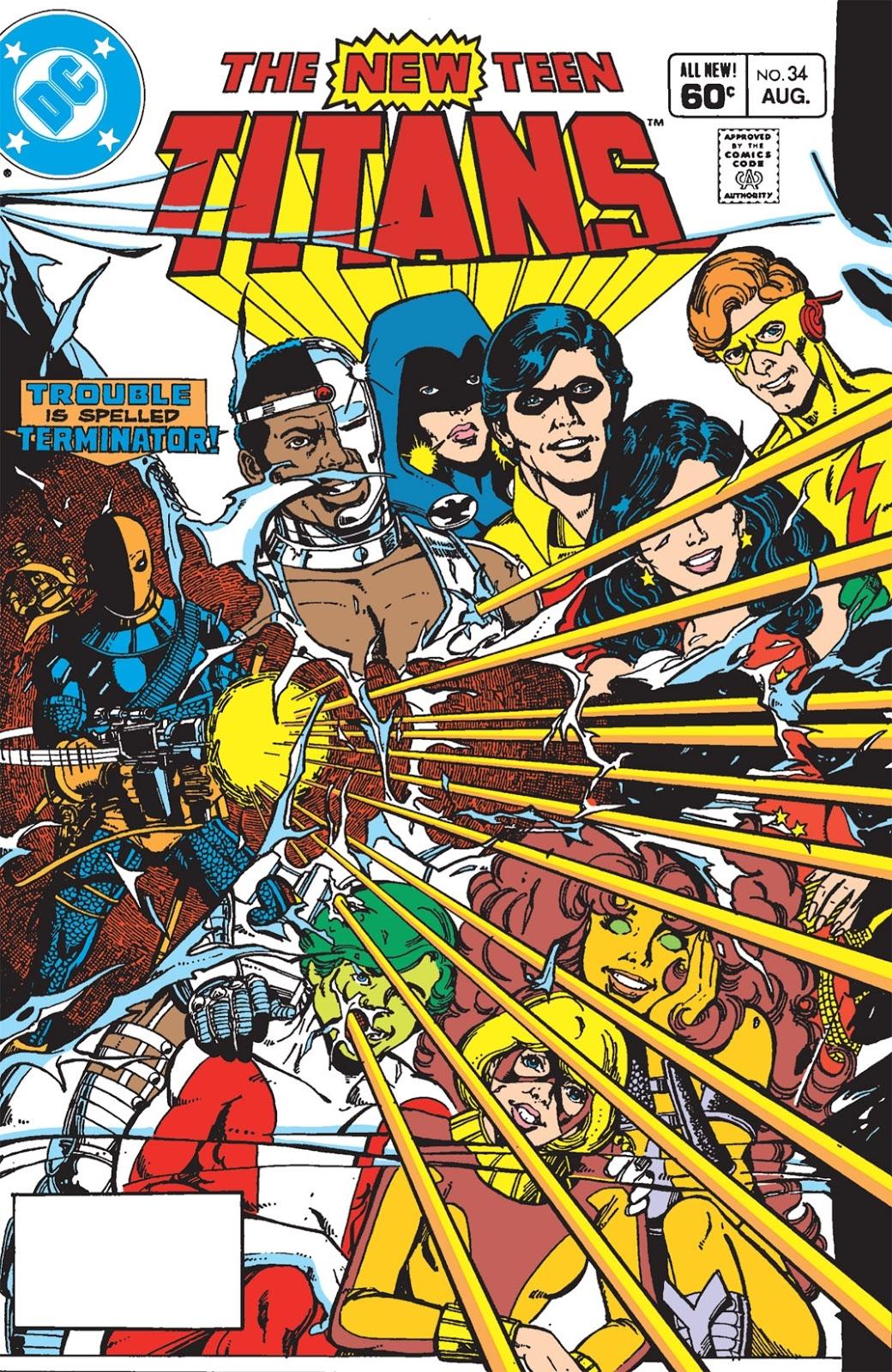 New Teen Titans #34 – Reviews Of Old Comics
