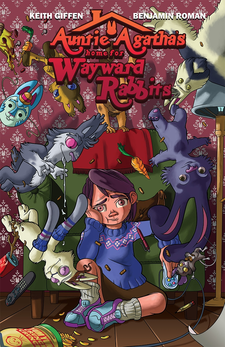 Keith Giffen Returns To Image With Auntie Agatha's Home For Wayward Rabbits