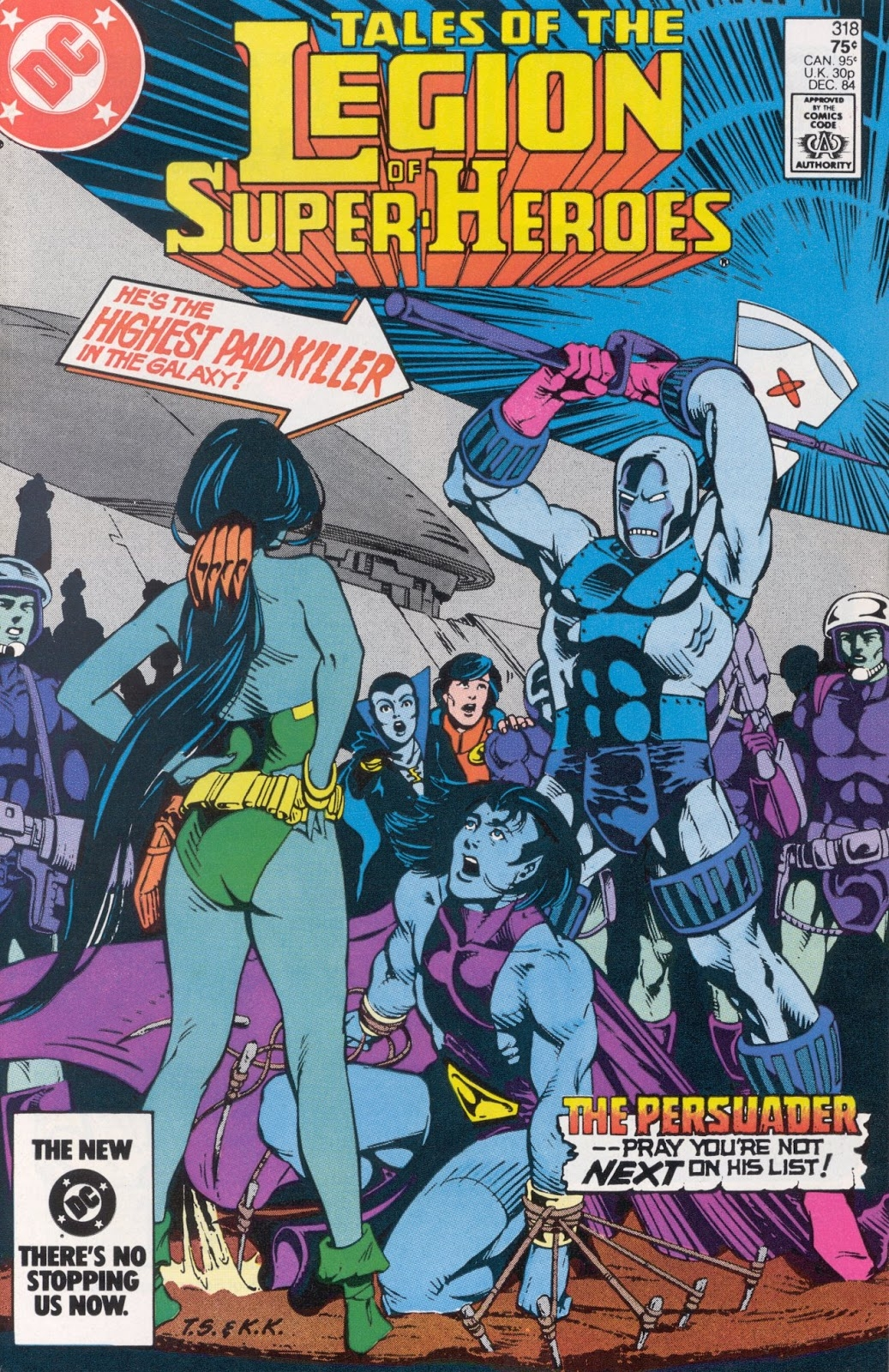 Tales Of The Legion #318 – Reviews of Old Comics