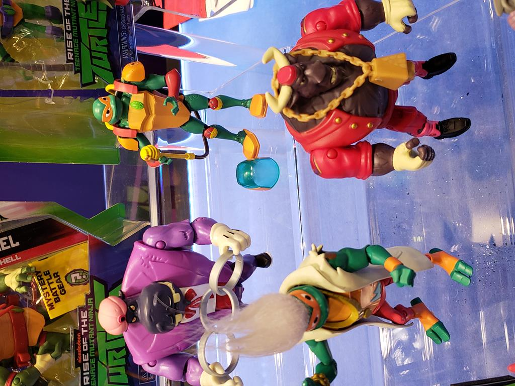 Playmates-Toy Fair 2019- Rise of the TMNT and More!