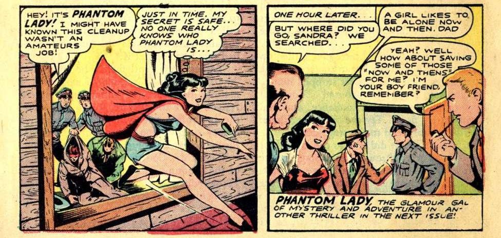 Phantom Lady #13 – Reviews Of Old Comics