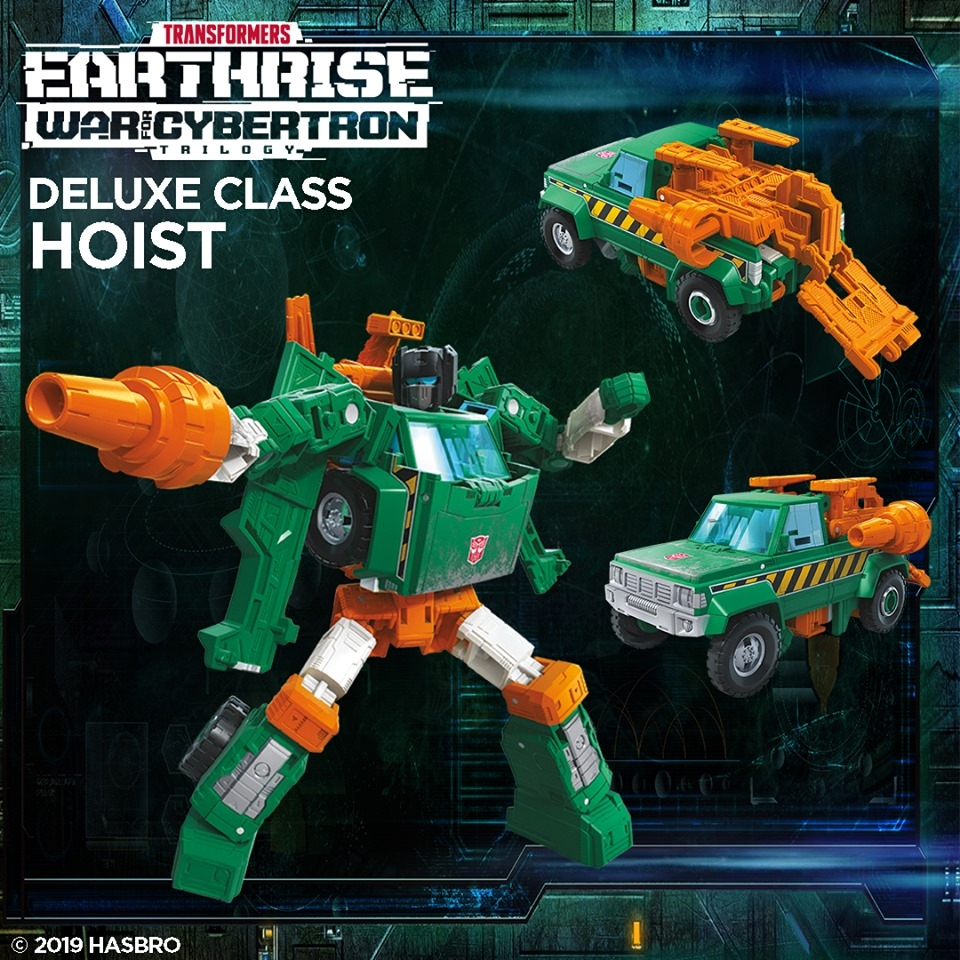 Transformers Earthrise Official Images