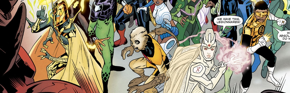 Five Mysteries In The New Legion Of Super-Heroes
