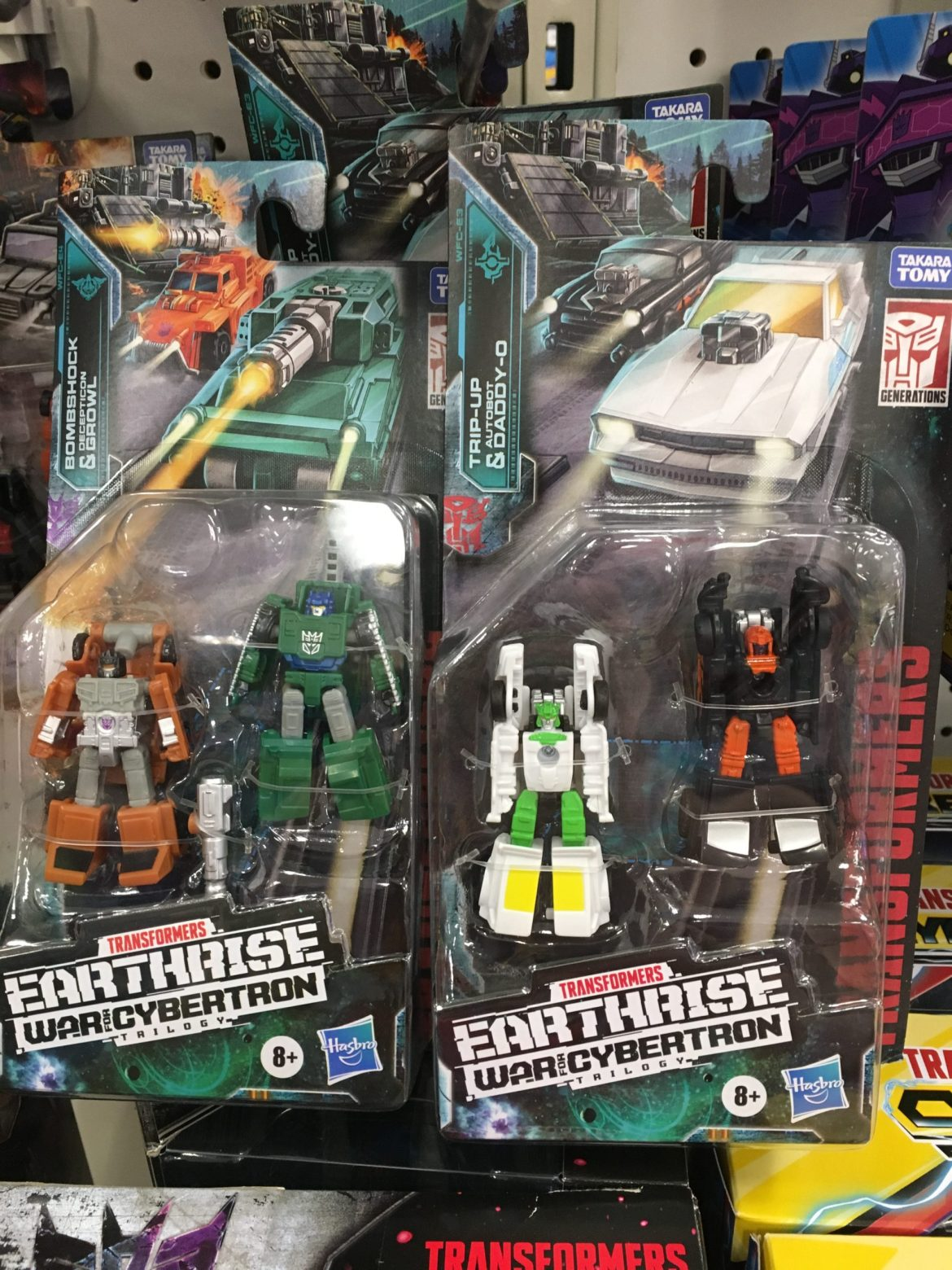 Transformers Earthrise Micromasters spotted at Retail