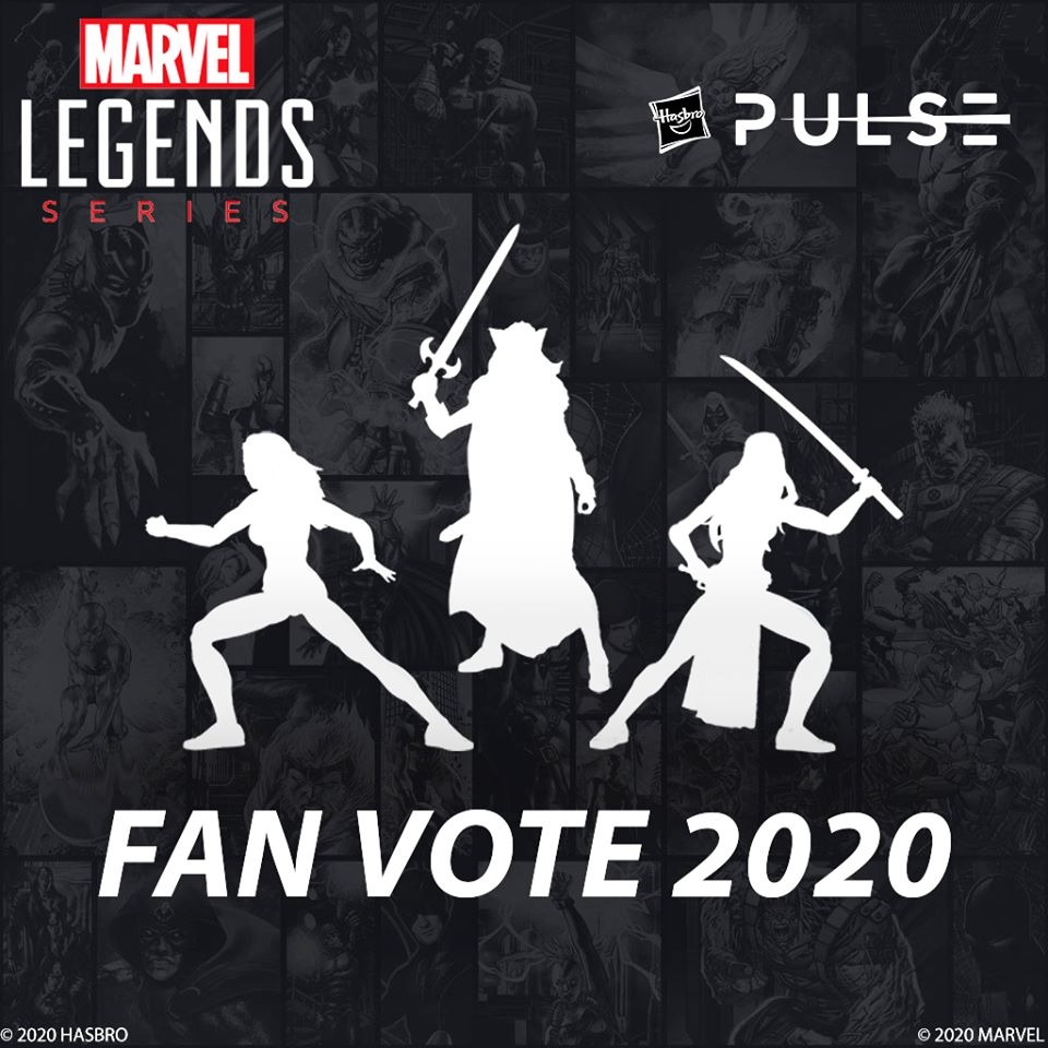 Marvel Legends Fan Vote- Hasbro